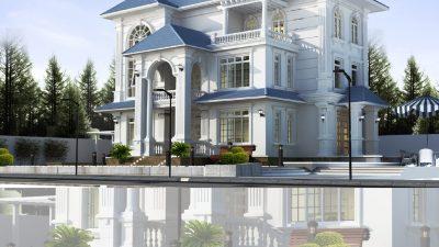Hỏi mẫu thiết kế biệt thự hiện đại đẹp?
