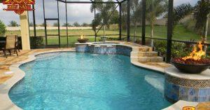 Mẫu biệt thự hiện đại có bể bơi