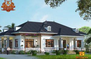 Mẫu biệt thự vườn 1 tầng hiện đại tại Hà Nội